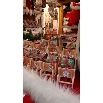 Slitta Babbo Natale con Speck